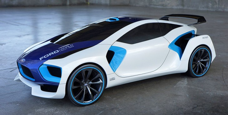 Ford WRC RS160 concept car