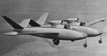 Strange Aircraft: Fouga CM.88 Gemeaux