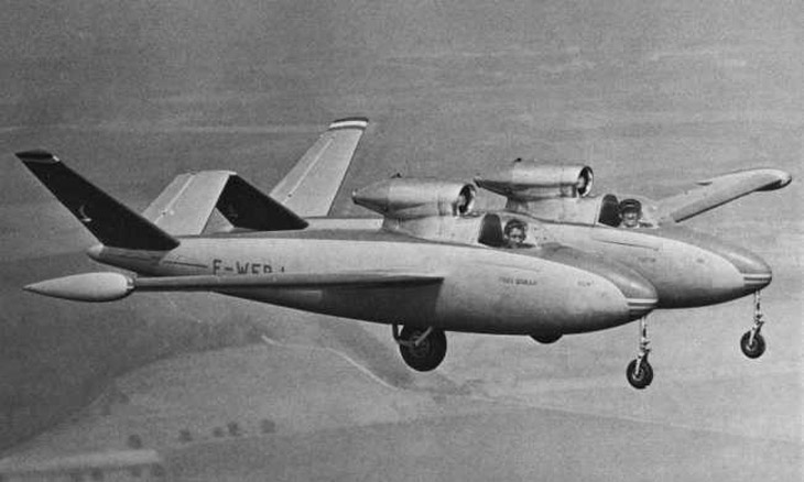 Fouga CM.88 Gemeaux aircraft