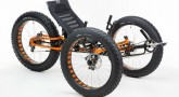 ICE Full Fat recumbent tricycle