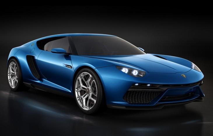 Lamborghini Asterion LPI 910-4 hybrid supercar