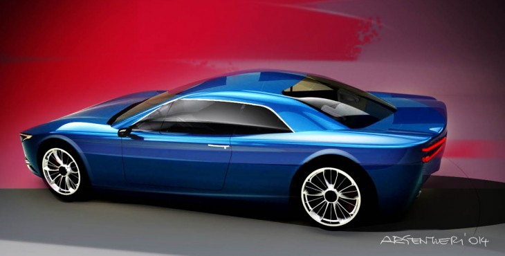 Lancia Gamma Coupe concept car