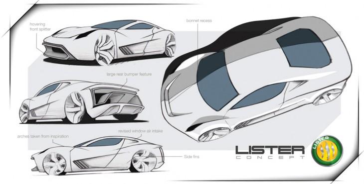 Lister Concept supercar