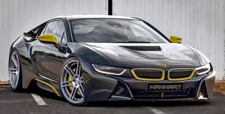Manhart Racing BMW i8 front