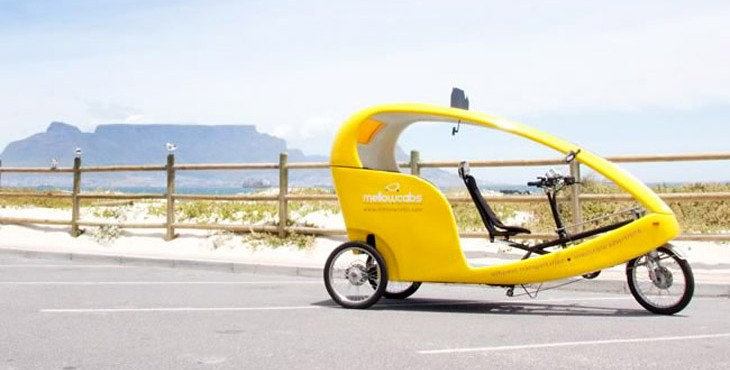 Mellowcabs electric powered taxi