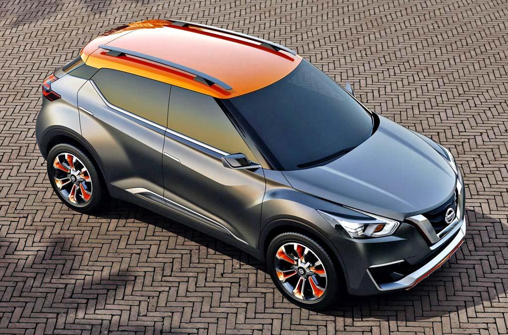 Nissan Kicks concept SUV