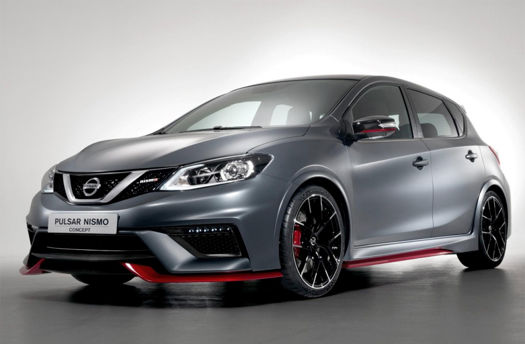 Nissan Pulsar NISMO concept front view