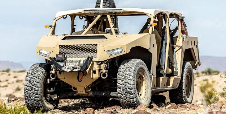 Polaris Dagor special forces vehicle