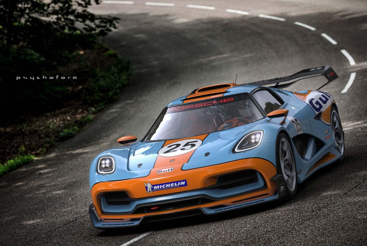 Porsche 913 Supercar Concept Concept Cars Diseno Art