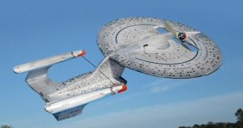 Release your inner geek with an RC Star Trek Enterprise model. Or Not.