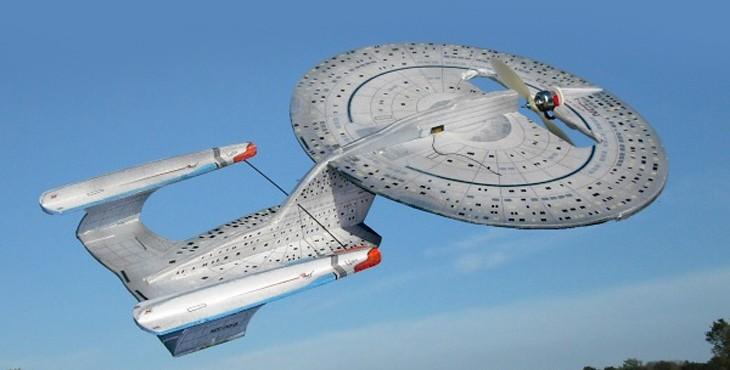 Star Trek Enterprise D remote control model