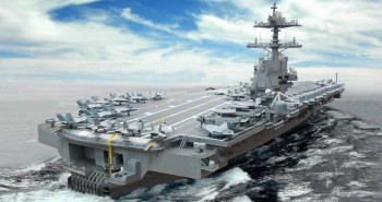 Dissecting the USS Gerald R. Ford (CVN-78) Aircraft Carrier