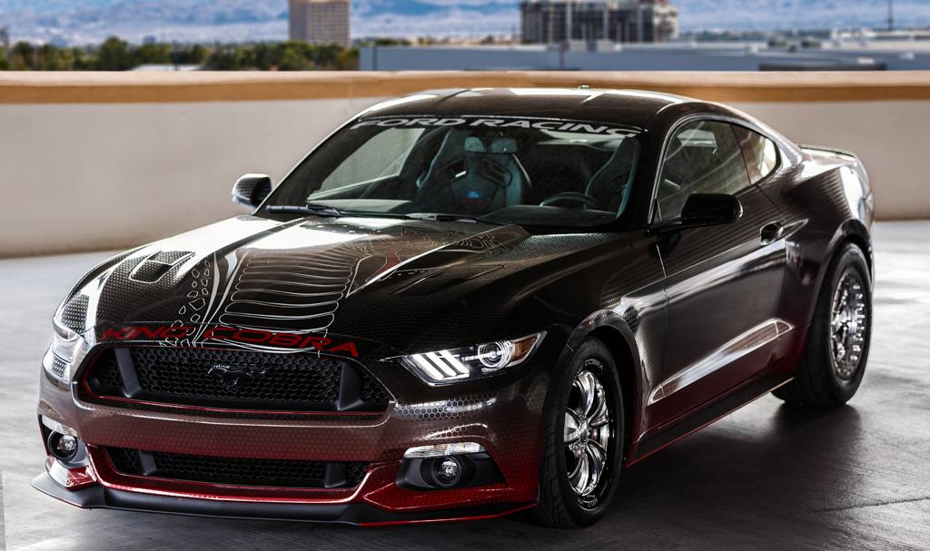 2015 Ford Mustang King Cobra performance packages