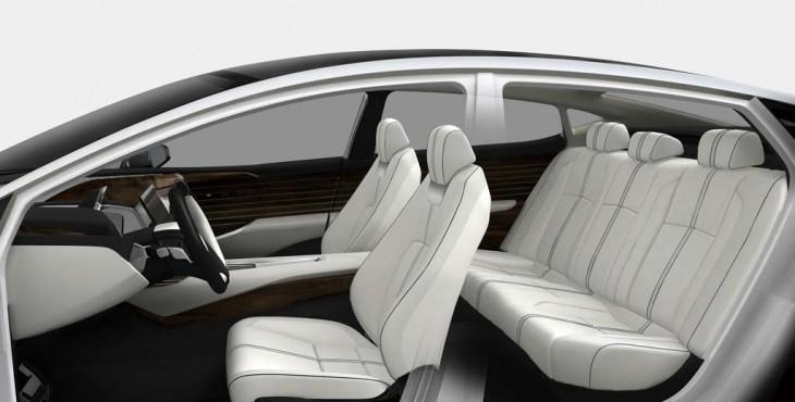 2015 Honda FCV concept interior