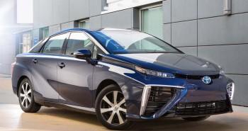 Toyota Mirai fuel-cell vehicle (FCV)