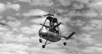 Strange Aircraft: American Helicopter XH-26 Jet Jeep