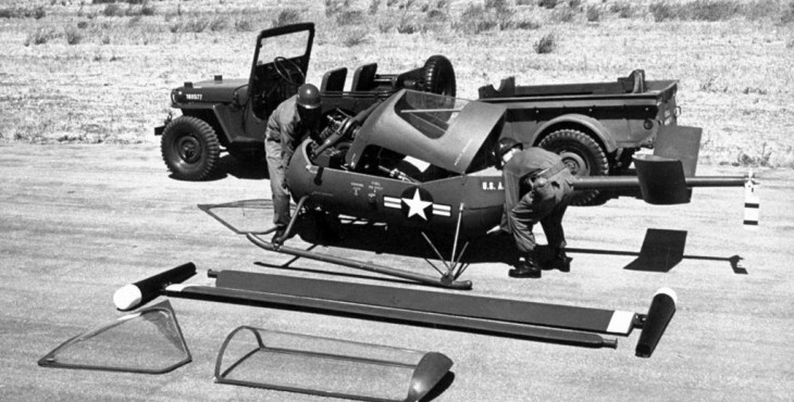 American Helicopter XH-26 Jet Jeep