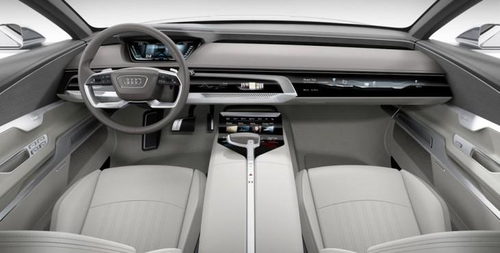 Audi Prologue Concept Car interior