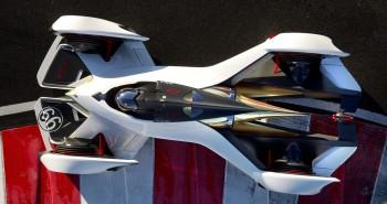 Laser-powered Chevrolet Chaparral 2X VGT Concept