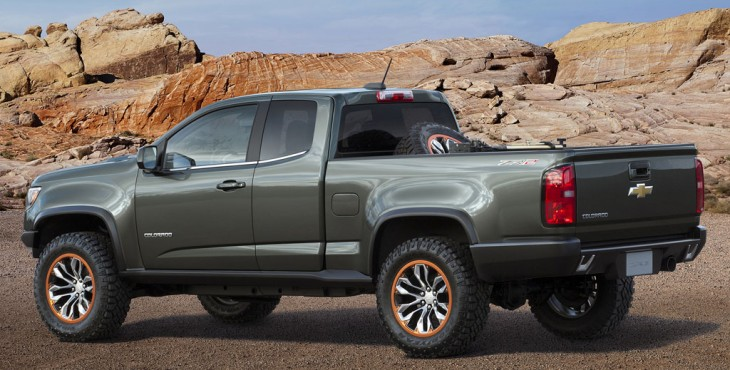 Chevrolet Colorado ZR2 Concept pickup truck