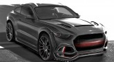 Ford Mustang SUV rendered