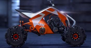 KTM X2 HYBRID – ATV / Snowmobile