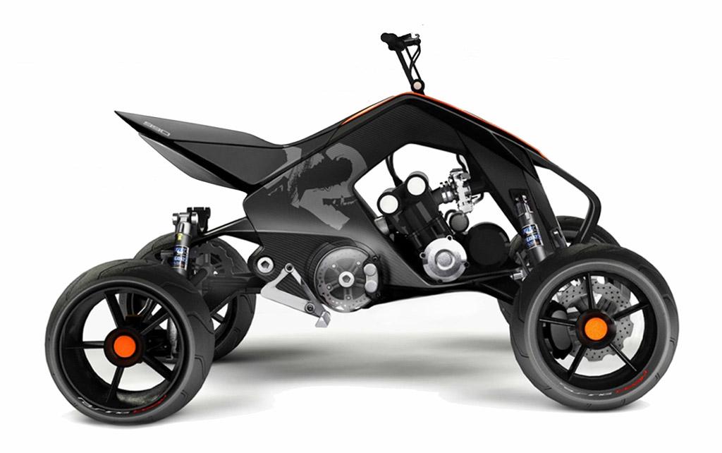 KTM X2 HYBRID - ATV / Snowmobile - Diseno-art