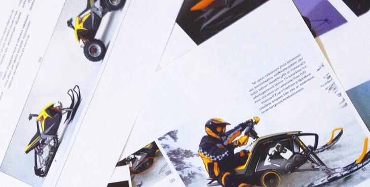 KTM X2 Hybrid ATV / Snowmobile