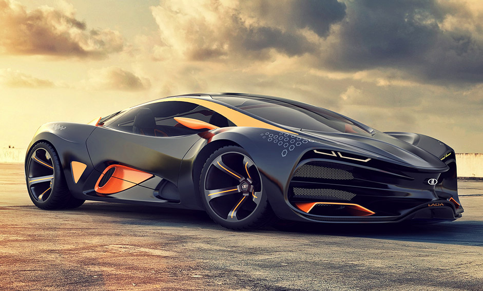 Great Concept Cars U003e Lada Raven Supercar Concept
