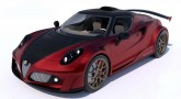 Ferrari-Powered Alfa Romeo 4C Definitiva by Lazzarini Design