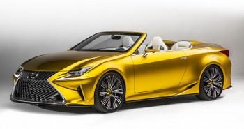 Lexus LF-C2 convertible 2+2 concept