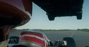 Video: Truck jumps F1 car and breaks world record