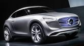 Mercedes-Benz G-Code compact SUV concept