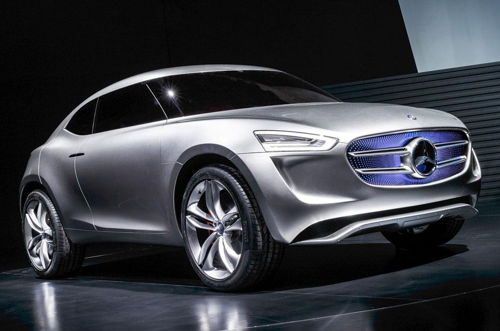 Mercedes-Benz Vision G-Code concept car