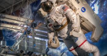 The NASA MMU (Manned Maneuvering Unit)
