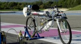 World's fastest rocket-powered bicycle – 207 mph in 4.8 seconds