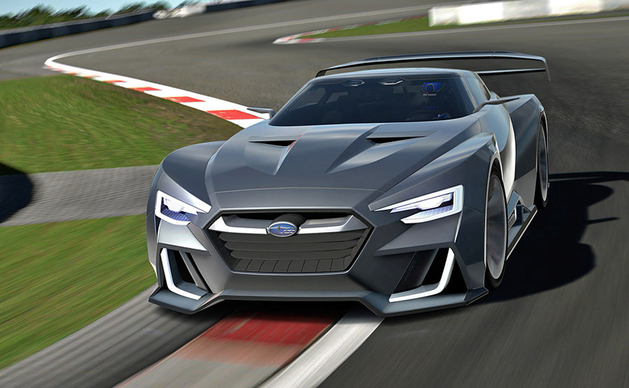 Subaru Viziv GT Vision Concept Gran Turismo 6