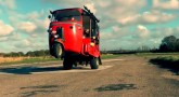 Weaponized Tuk Tuk from Far Cry 4 made real