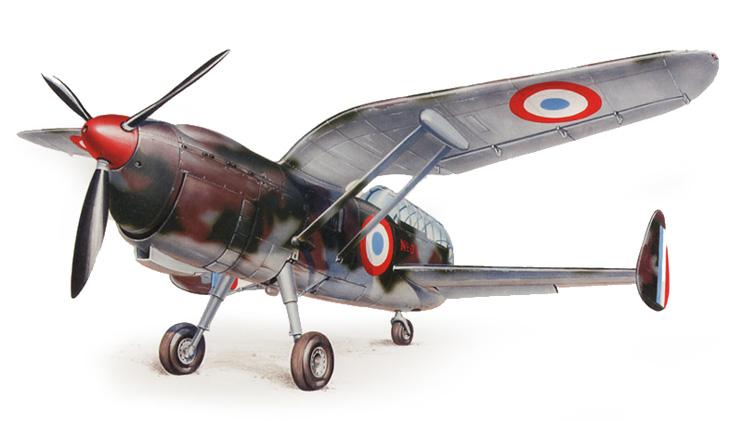 Arsenal-Delanne 10-C2 strange aircraft