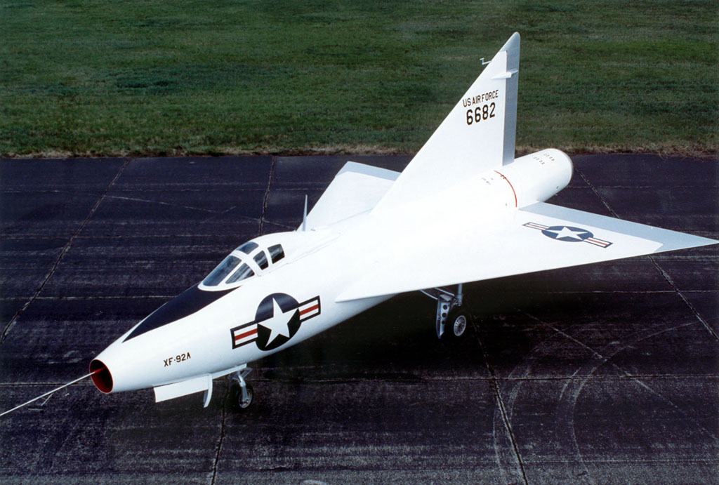 Convair XF-92 delta-wing prototype aircraft
