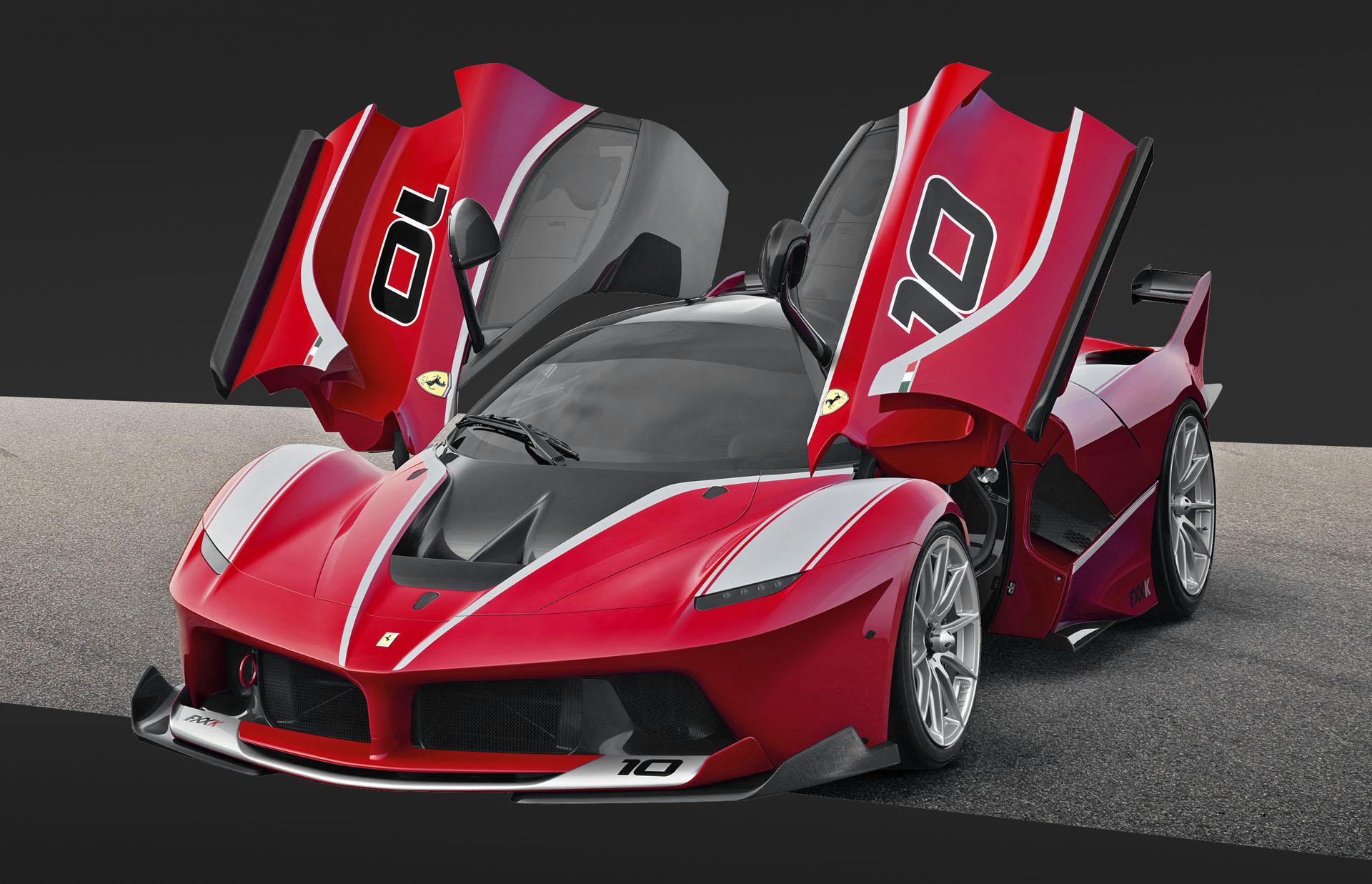 Ferrari FXX K track car