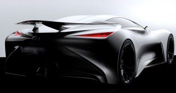 Infiniti Vision Gran Turismo Concept teaser images revealed