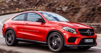 Mercedes GLE450 AMG 3-door Rendered