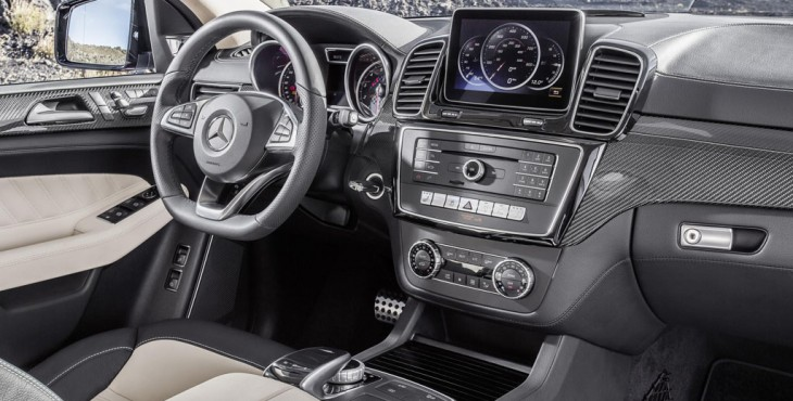 Mercedes-Benz GLE Coupe interior