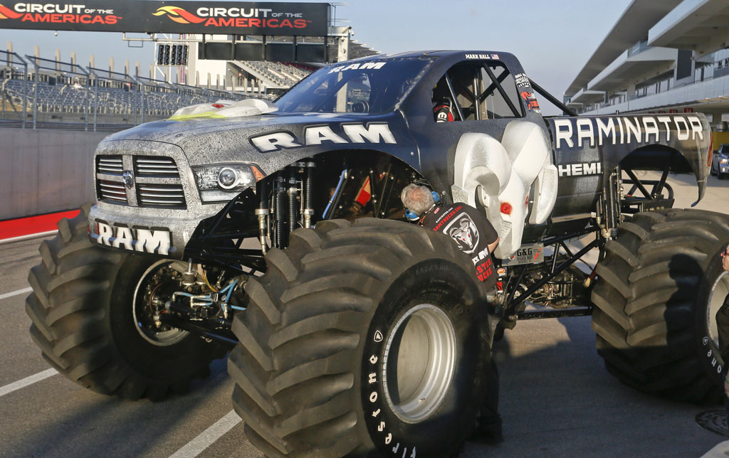 Raminator monster truck world record