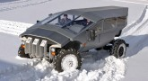 Russian-built, Humvee-based ZIL army personnel carrier