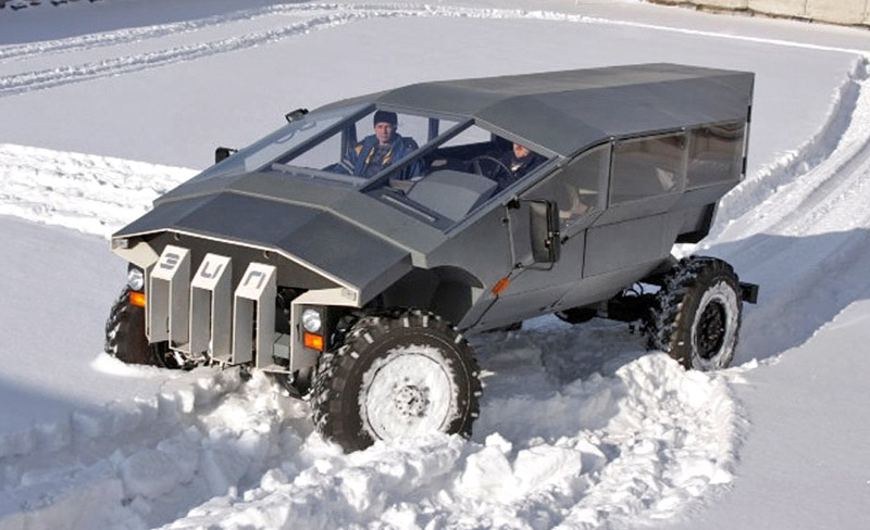 Zil Russian Humvee armored car concept