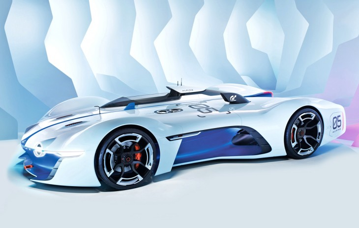 Alpine Vision Gran Turismo race car
