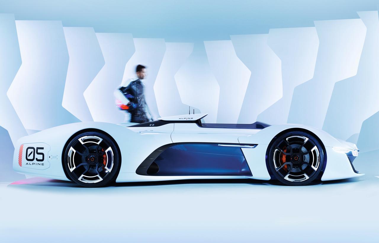 Alpine Vision Gran Turismo Concept Cars Diseno Art