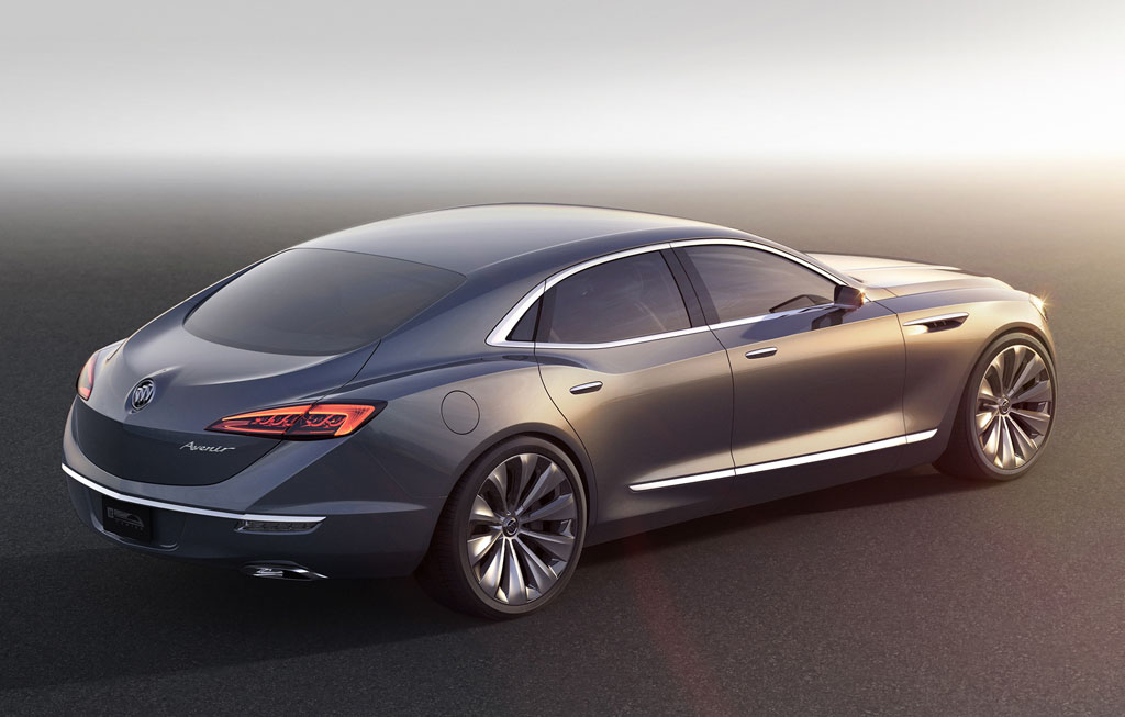 buick avenir concept cars diseno art. Black Bedroom Furniture Sets. Home Design Ideas